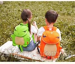 Дитячий рюкзак Nohoo Tyrannosaurus Style Тиранозавр Рекс (NH029 Green), фото 3