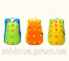 Дитячий рюкзак Nohoo Шипастик Салатовий (NH022 Green), фото 3