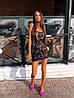 Стильне вечірній коротка сукня з паєтками без рукава, фото 6
