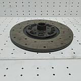 Диск ведомый главной муфты сцепления ЮМЗ-80 75-1604040 А6, фото 4