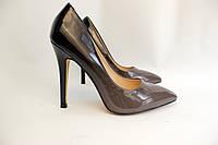 Туфлі жіночі класичні  омбре,коричневі, фото 1