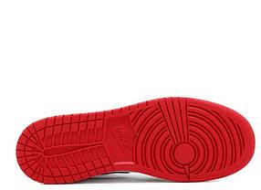 """Кроссовки Nike Air Jordan 1 Retro White Black Red Royal """"Разноцветные"""", фото 3"""