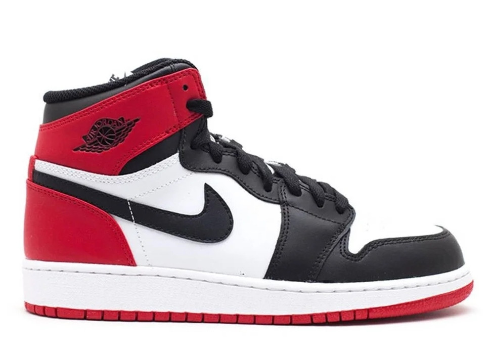 """Кроссовки Nike Air Jordan 1 Retro White Black Red Royal """"Разноцветные"""""""