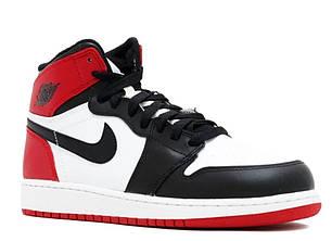 """Кроссовки Nike Air Jordan 1 Retro White Black Red Royal """"Разноцветные"""", фото 2"""