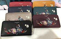Женский кошелек David Jones Девид Джонс орнамент цветы в расцветках, жіночий гаманець
