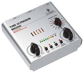 BEHRINGER MIC200 ULTRAGAIN Микрофонный усилитель