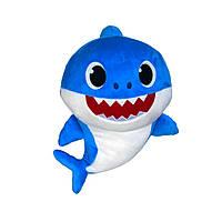 Интерактивная мягкая игрушка Baby Shark – папа Акуленка (PFSS-08003-01)