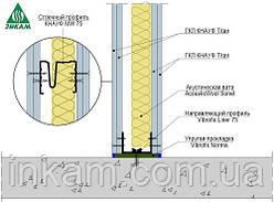 Звукоізоляційні перегородки Knauf W112 Titan - 125мм