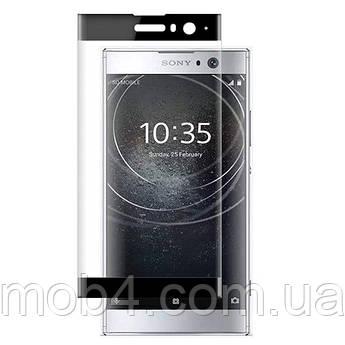 Захисне скло для Sony Xperia XA 2 (чорне, біле золото)