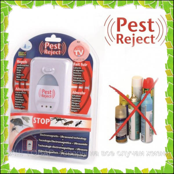 Отпугиватель тараканов грызунов и насекомых pest reject