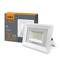 Светодиодный уличный LED прожектор VIDEX 30W 5000K