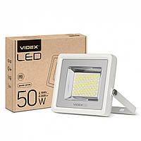Светодиодный уличный LED прожектор VIDEX PREMIUM 50W 5000K Белый