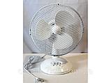 Настольный вентилятор Table Fan 0312 Opera Digital 2 cкорости 12 дюймов, фото 2