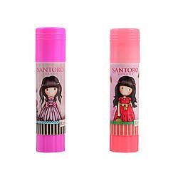 """Клей-карандаш 8г, PVA """"Santoro Summer+Candy"""" 24шт. в уп. //"""