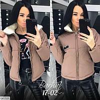 Куртка женская синтепоновая с подкладкой модная