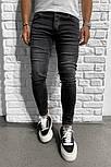 Мужские зауженные джинсы, замеры в описании, Турция, фото 2