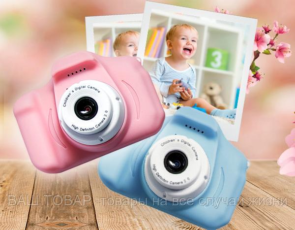 Цифровой детский фотоаппарат Kids Сam