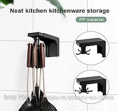 Навесной кухонный держатель Lesko 6 крючков
