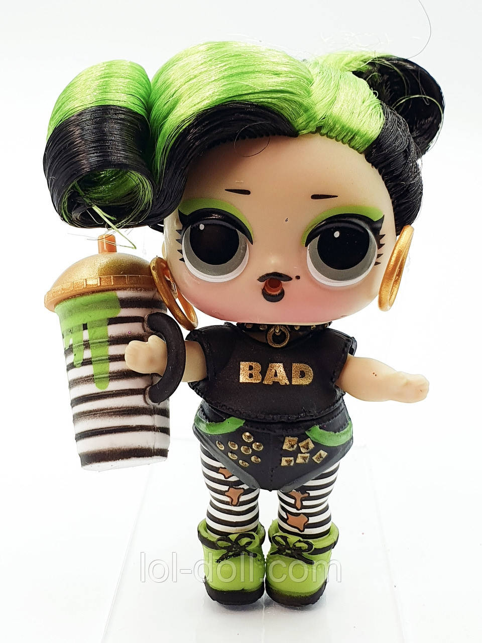 Кукла LOL Surprise 5 Серия Bhaddie - Бади, Зеленка Hairgoals Лол Сюрприз Без Шара Оригинал