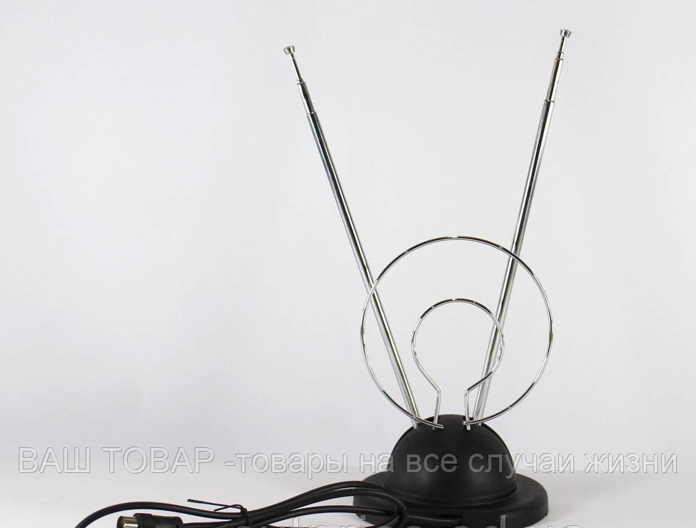 Телевизионная комнатная антенна 128 Т2 всеволновая