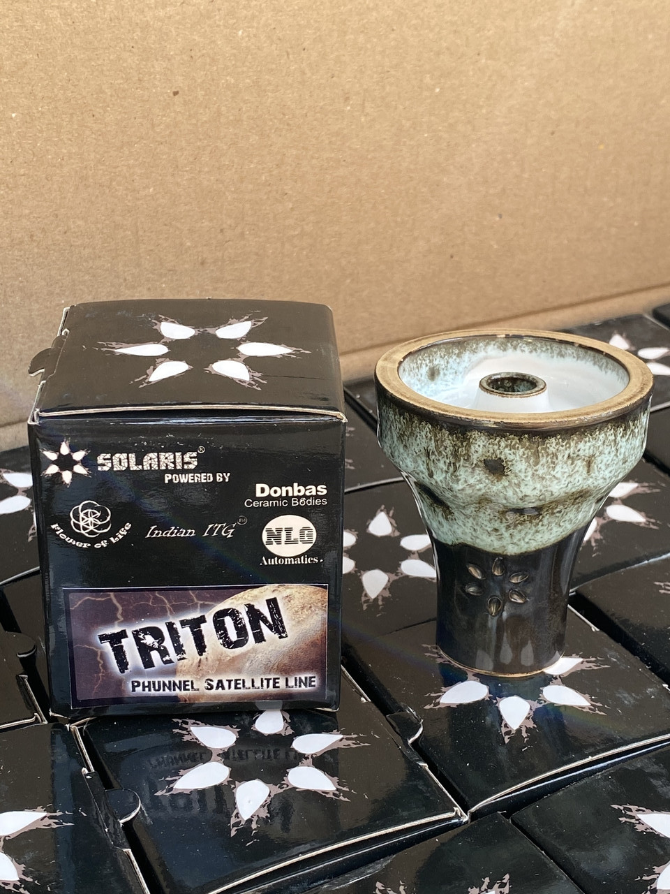 ЧАША ДЛЯ КАЛЬЯНА SOLARIS TRITON (СОЛЯРИС ТРИТОН - Глиняная чаша фаннел)