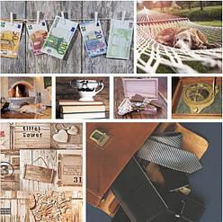Подарунковий паперовий пакет ЧАШКА 16*16*8 см Гроші