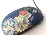 Мышь USB MA-MTA06K/В-178 цветок, фото 2