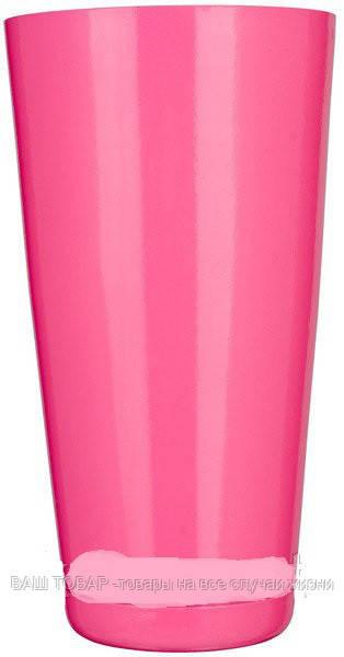 """Шейкер""""Бостон""""розового цвета H 175 мм (шт)"""