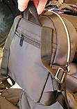 Городские текстильные рюкзаки Fendi 24*27 см, фото 2
