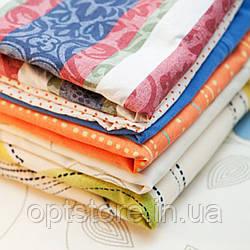 Простынь двуспальный размер 180*210 см ткань поликоттон китай