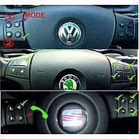 Інтерфейс підключення керма і камери VW/SEAT/SKODA CAN 8Key Timer