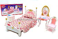 Детская игрушечная мебель Глория Gloria для кукол Барби Спальня 2319. Обустройте кукольный домик, фото 1