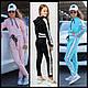 Детский спортивный костюм для девочек, р-ры на рост 134 - 164, фото 2