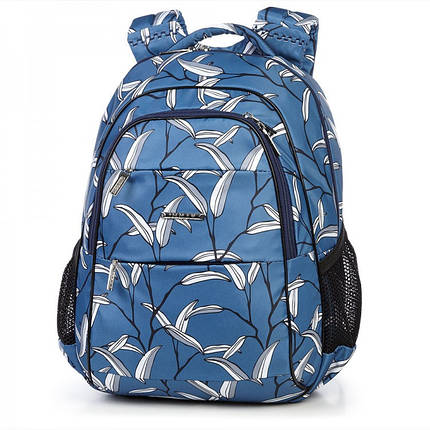 Школьный рюкзак ортопедический Dolly 544 для девочки подростка светло-синий, фото 2