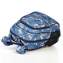 Школьный рюкзак ортопедический Dolly 544 для девочки подростка светло-синий, фото 3