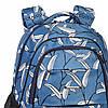 Школьный рюкзак ортопедический Dolly 544 для девочки подростка светло-синий, фото 4