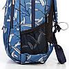 Школьный рюкзак ортопедический Dolly 544 для девочки подростка светло-синий, фото 6