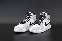 Мужские кроссовки Nike Air Jordan.Gray. ТОП Реплика ААА класса., фото 3