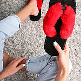 Женские домашние тапочки вьетнамки цвета Кардинал, Family Story, 38-39 (v0202-39e), фото 2