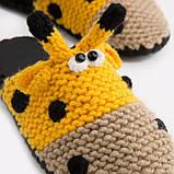 Домашние тапочки с мордочкой Жирафа, Family Story, 38-39 (ng1106-39f), фото 2