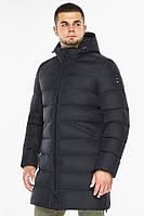 """Куртка мужская зимняя утепленная Braggart """"Aggressive"""" длинная темно-синяя, температурный режим до -40°C"""