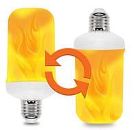 Лампа LED Flame Bulb А+ с эффектом пламени огня, E27, фото 2