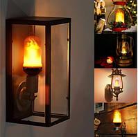 Лампа LED Flame Bulb А+ с эффектом пламени огня, E27, фото 4