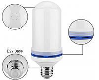 Лампа LED Flame Bulb А+ с эффектом пламени огня, E27, фото 5