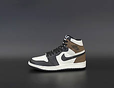 Мужские кроссовки Nike Air Jordan.Black/White. ТОП Реплика ААА класса., фото 2