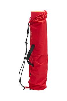 Чехол сумка для коврика йоги Synevyr 60Х12cм Червоний