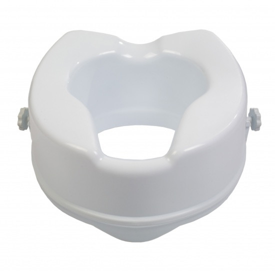 Туалетне сидіння високе 15 см без кришки