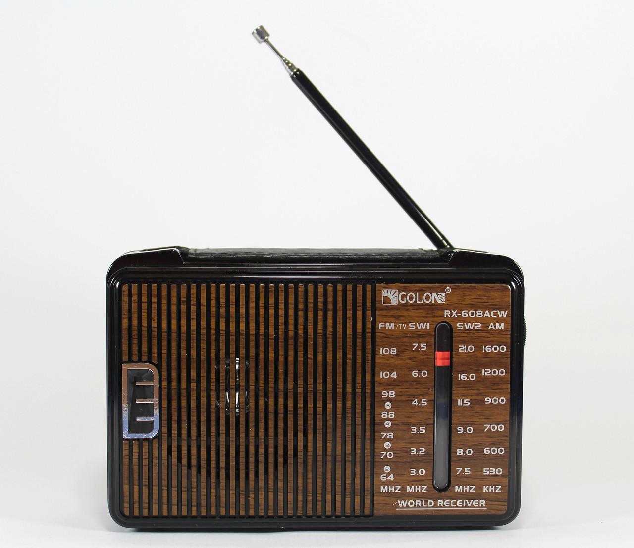 Радиоприемник Golon RX 608