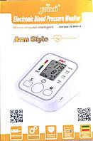 Электронный измеритель давления electronic blood pressure monitor Arm style   тонометр