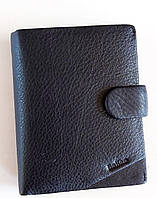 Мужское кожаное портмоне Balisa 007-115 black Мужское кожаное портмоне БАЛИСА оптом Одесса 7 км, фото 1